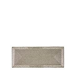 Debenhams - Silver beaded runner