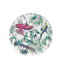 Butterfly Home by Matthew Williamson - Cream serving platter