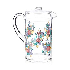 At home with Ashley Thomas - Clear large picnic jug