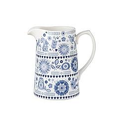 Queens - 'Penzance' 1.5l pint jug