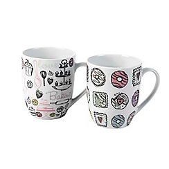 Inspire - Bake off set of 4 mugs
