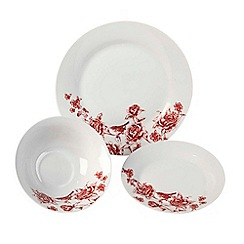 Inspire - Country floral 12pc dinner set