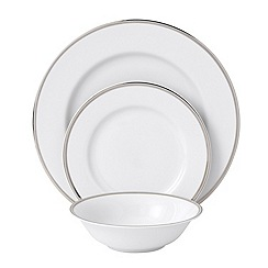Royal Doulton - Platinum trim 12 piece dinner set