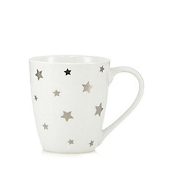 Sabichi - White star mug