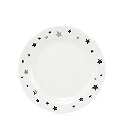 Sabichi - White star dinner plate