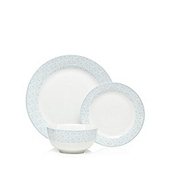 At home with Ashley Thomas - Light blue porcelain 12 dinner set