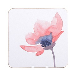 Creative Tops - Set of six 'Watercolour' floral coasters