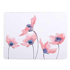 Creative Tops - Watercolour floral set of 6 tablemats