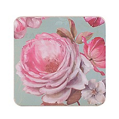 Creative Tops - Butterfly floral set of 6 coasters