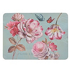 Creative Tops - Butterfly floral set of 6 placemats