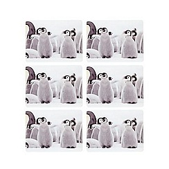 Creative Tops - Set of six penguin coasters