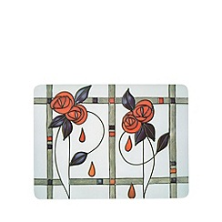 Creative Tops - Set of six natural art deco rose placemats