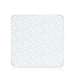 At home with Ashley Thomas - Set of six pale blue coasters