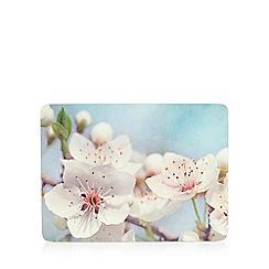 Debenhams - Set of six blossom flower mats