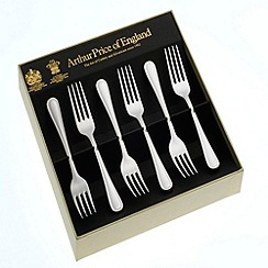 Arthur Price - Britannia Silver Plated Box of 6 Fruit Forks