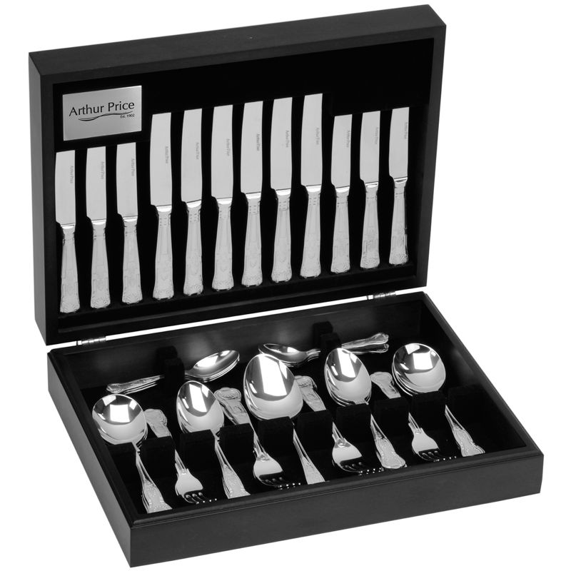 Arthur Price Kings 18/10 stainless steel 44 piece 6 person