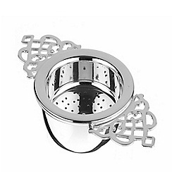 Arthur Price - Silver plated luxury Tea Strainer and matching drip cup