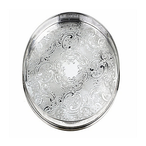 Arthur Price - Round gallery tray
