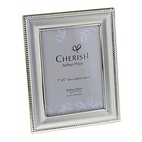 Arthur Price - Bead Photo Frame 5 x 7