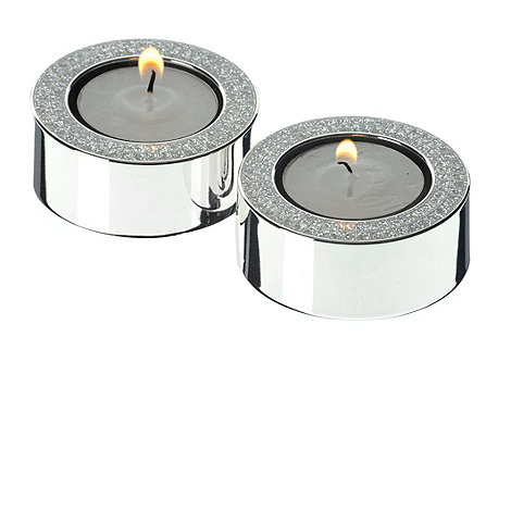 Arthur Price - Pair of tealight holders