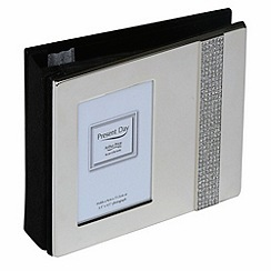 Arthur Price - Silver Plated Diamante Photo Album