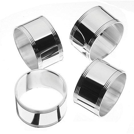 Arthur Price - Set of 4 napkin rings