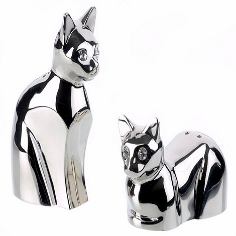 Arthur Price - Cat Salt And Pepper Pots