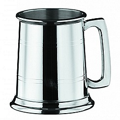 Arthur Price - Straight sided 1 pint pewter Tankard
