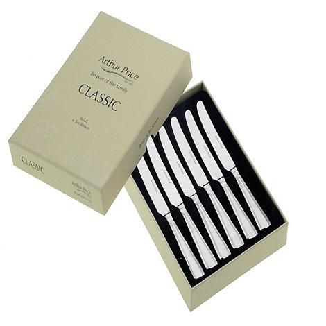 Arthur Price - Bead Box Of 6 Tea Knives