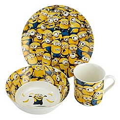 Arthur Price - Sea of Minions Bone China 3 piece childrens set Mug Bowl and Plate