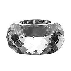 Royal Doulton - 24% lead crystal 'Radiance' tealight holder