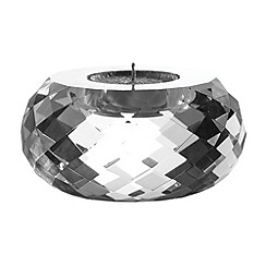 Royal Doulton - 24% lead crystal 'Radiance' large tealight holder