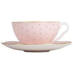 Wedgwood - Pink tea cup & saucer