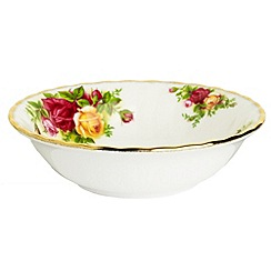Royal Albert - Red 'Old Country Rose' cereal bowl
