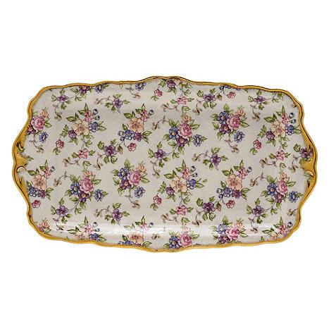 Royal Albert - Purple +100 Years of + sandwich tray
