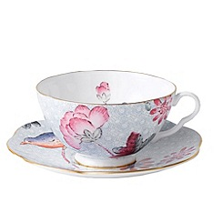 Wedgwood - Blue 'Cuckoo' cup and saucer