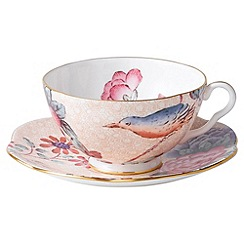 Wedgwood - Lilac teacup and saucer
