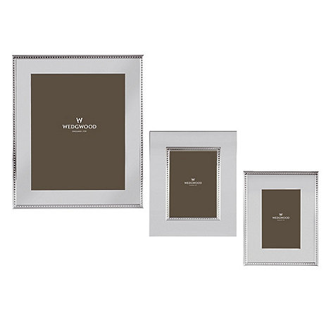 Wedgwood - Silver +Wish+ photo frame