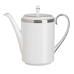 Vera Wang Wedgwood - White 'Lace' coffee pot