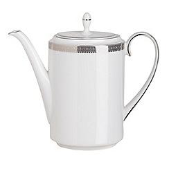 Vera Wang Wedgwood - White 'Lace' coffee pot