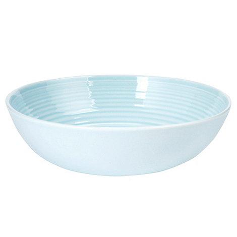 Gordon Ramsay By Royal Doulton - Blue +Maze+ cereal bowl