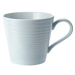 Gordon Ramsay By Royal Doulton - Blue 'Maze' mug