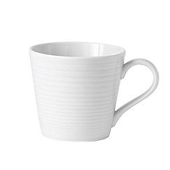 Gordon Ramsay By Royal Doulton - White 'Maze' mug
