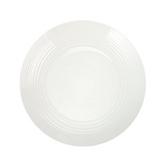 Gordon Ramsay By Royal Doulton - White 'Maze' dinner plate