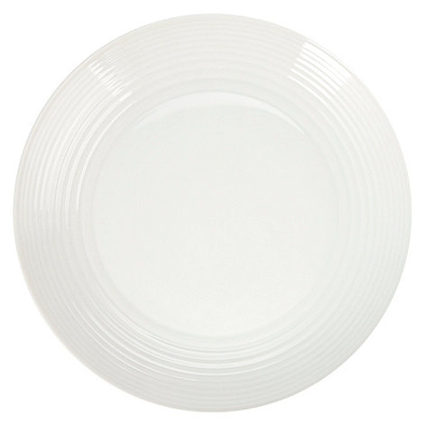 Gordon Ramsay By Royal Doulton - White +Maze+ salad plate