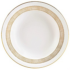 Vera Wang Wedgwood - White 'Gilded Weave' bread & butter plate