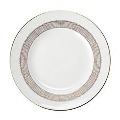 Vera Wang Wedgwood - White 'Gilded Weave' dessert plate