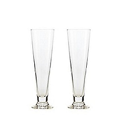 J by Jasper Conran - Set of two pilsner glasses