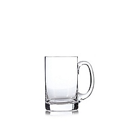 J by Jasper Conran - Designer boxed glass beer tankard