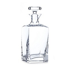 J by Jasper Conran - Designer glass square decanter